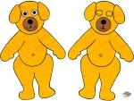 Teddy-Yellow