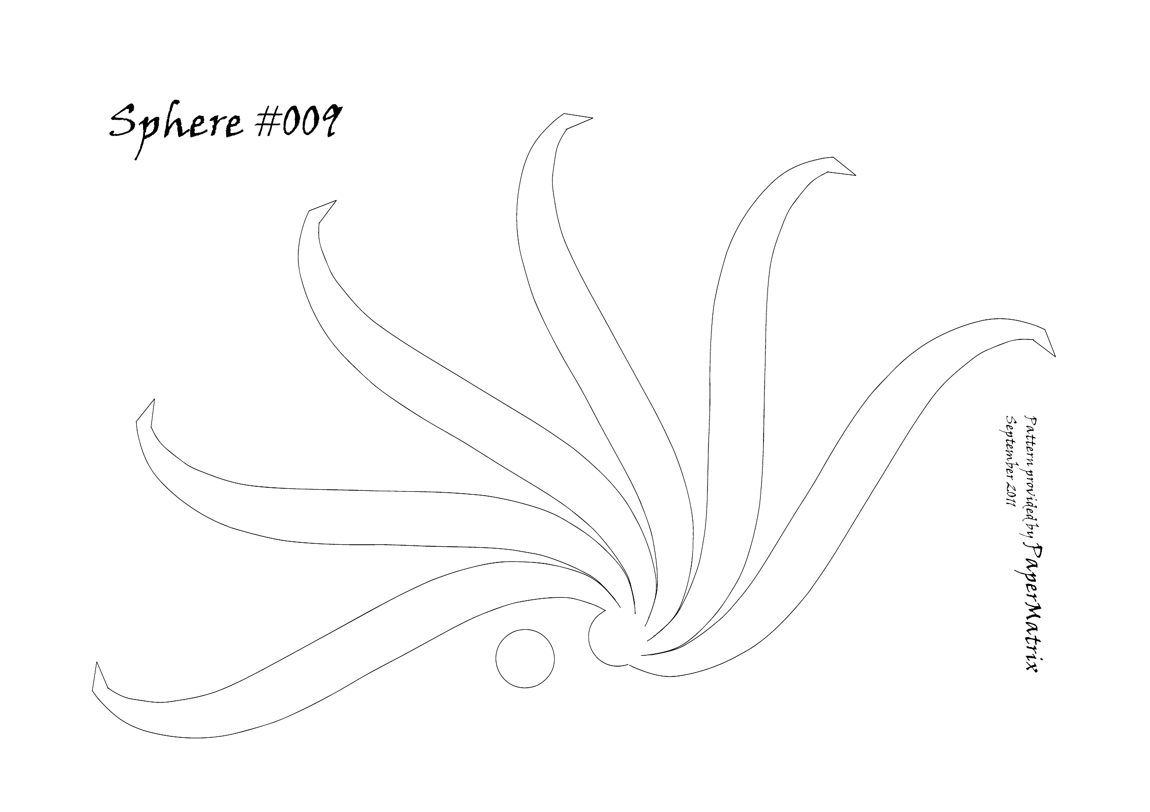 sphere 009 pattern | PaperMatrix