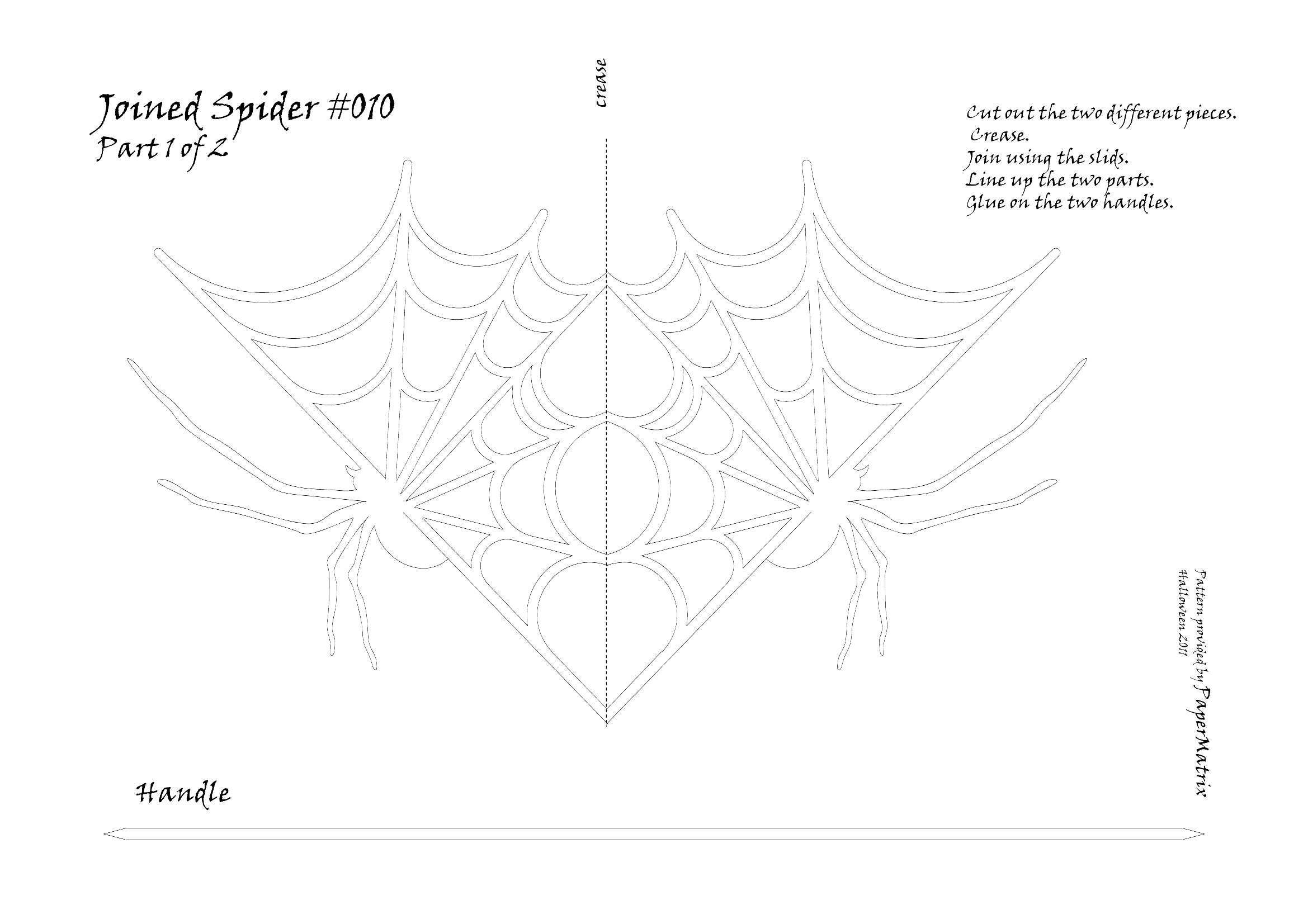 joined spider 010 papermatrix