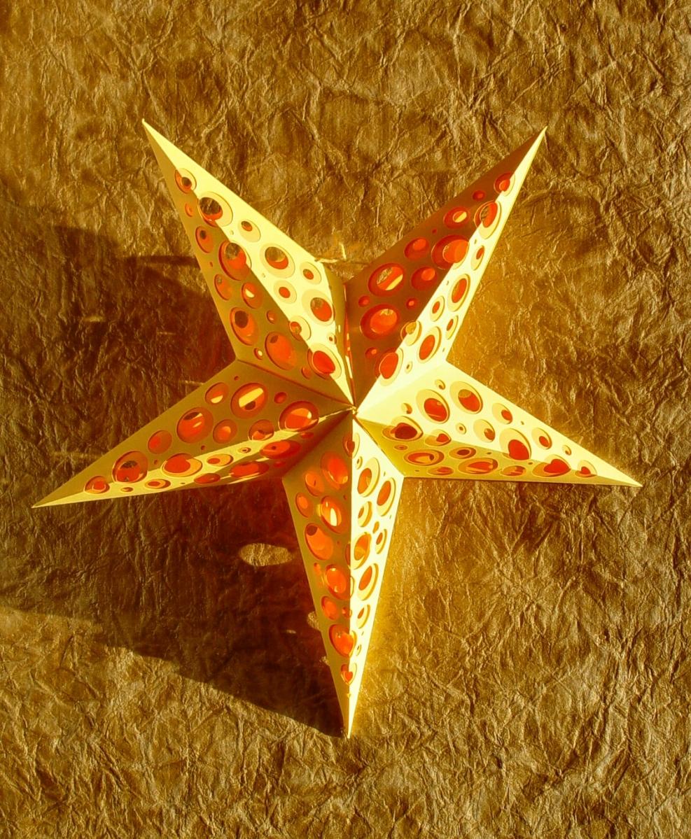 Star #004 Cut | PaperMatrix
