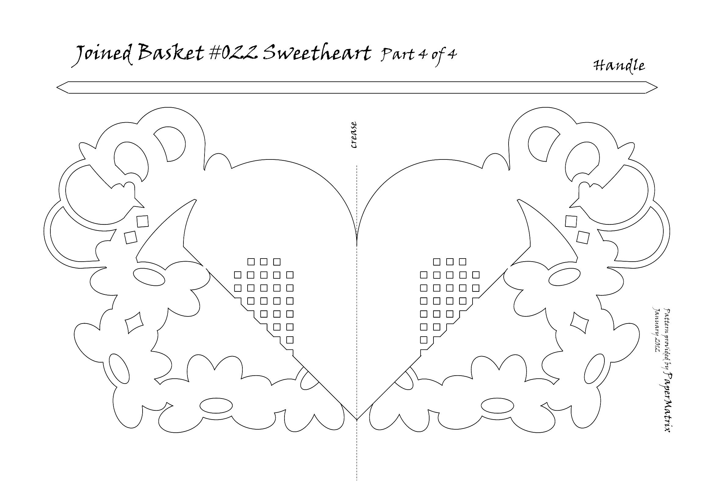 Схема объемные открытки из бумаги, днем