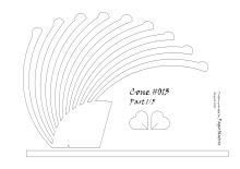 Cone 013 pattern 1