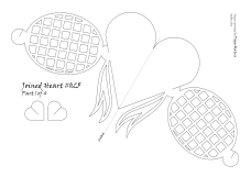 bow heart 025 pattern 1