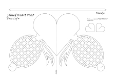 bow heart 025 pattern 2