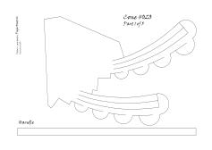 Cone 020 pattern 1