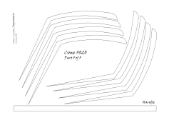 Cone 020 pattern 5