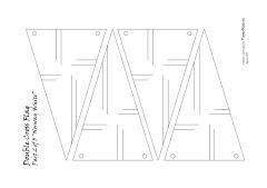 double cross white pattern