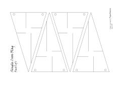 single cross pattern
