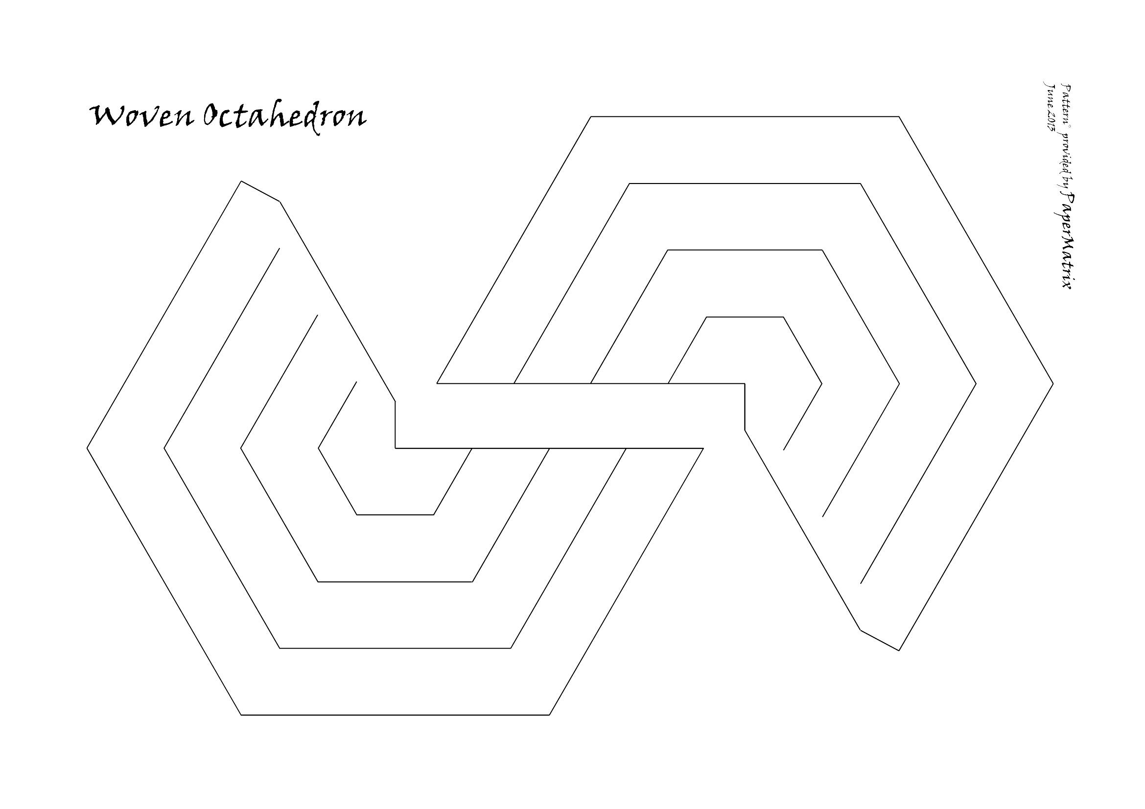 Octa 1 Octahedron Pattern