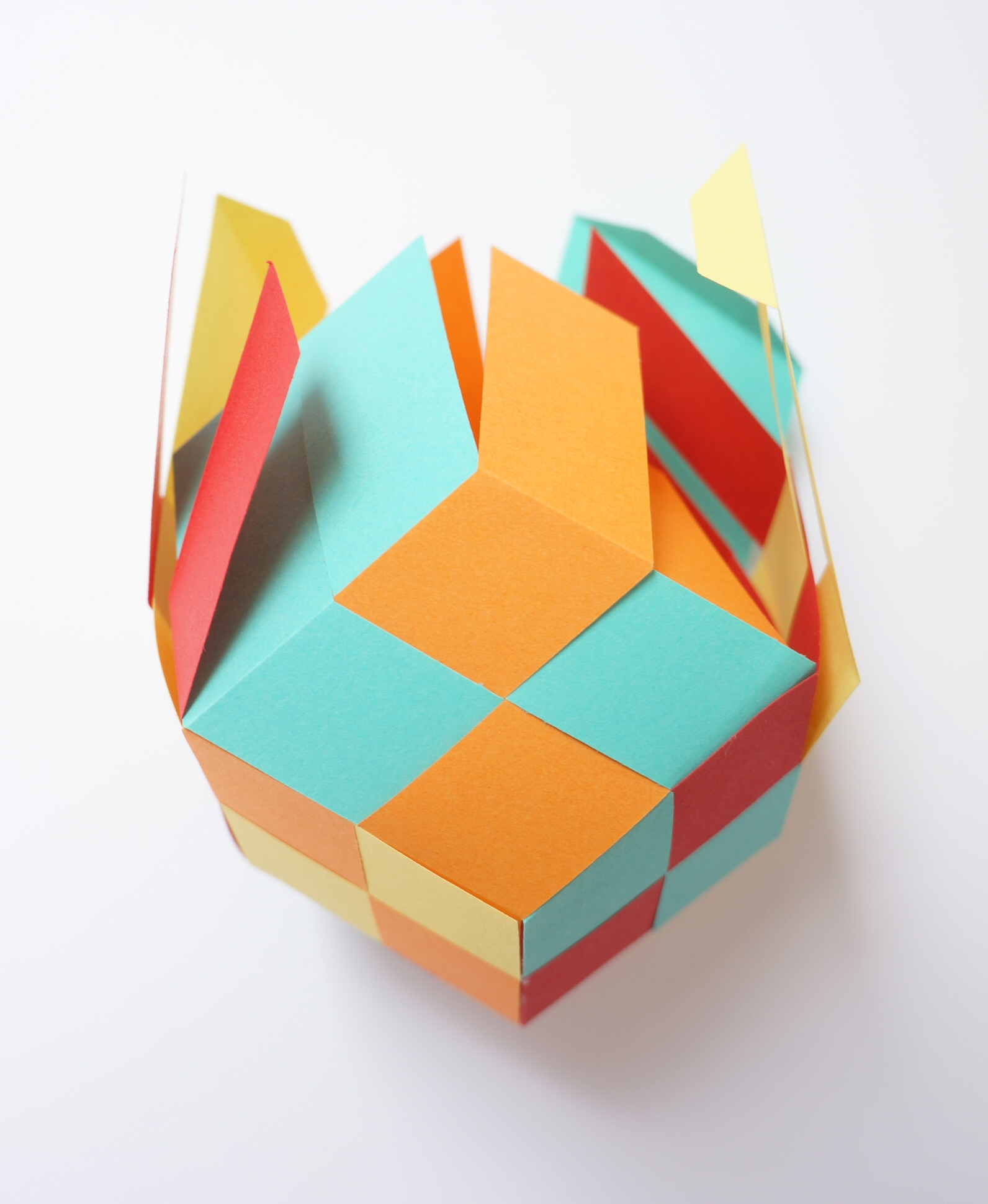 how to make a dodecahedron out of paper