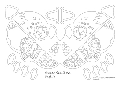 sugar scull 2 pattern 1