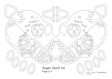 sugar scull 2 pattern 2