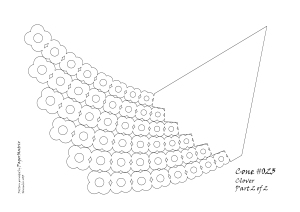 Cone 023 8 deg 6 arms clover pattern 2