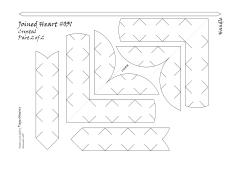 Joined basket 031 crystal pattern 2