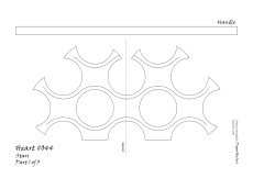 Heart 044 stars pattern 1