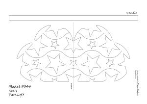 Heart 044 stars pattern 2