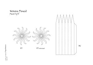 pencil pattern 03