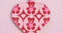 Heart 046 Teddy front