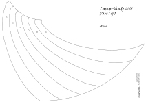 lamp shade 1 pattern