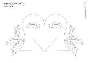 Heart 048 Holly pattern 3