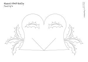 Heart 048 Holly pattern 3