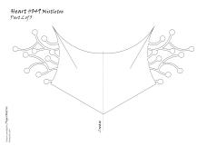 Heart 049 mistletoe pattern 2