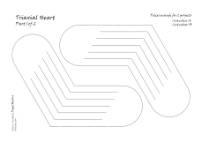 Triaxial heart 1 pattern