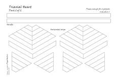Triaxial heart 2 pattern