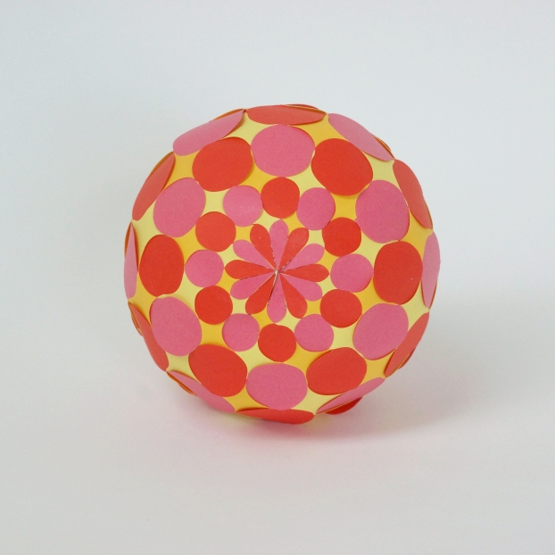 Sphere with circles 1