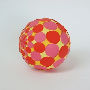 Sphere with circles 2