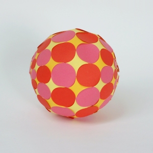 Sphere with circles 3