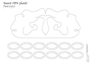 heart 054 pattern 2 Ghosts