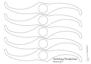 swirling pendulum pattern 2